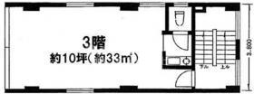 斉藤ビル:基準階図面