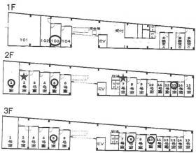 アスパ日本橋ビル:基準階図面