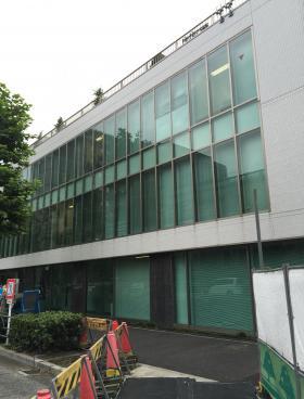 アスパ日本橋ビルのエントランス