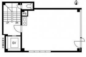 東新ビル:基準階図面