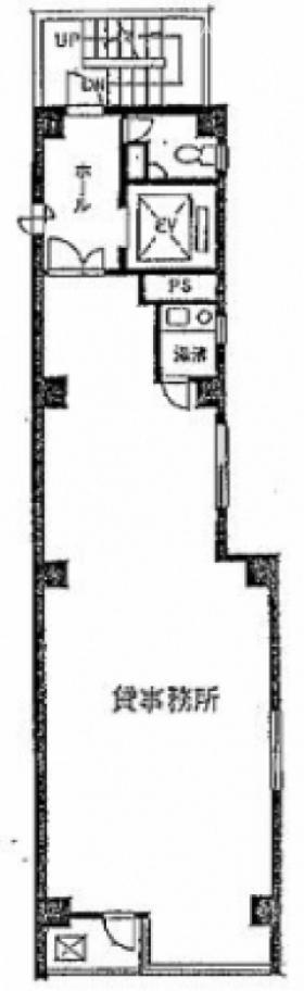 HONCHO394ビル:基準階図面
