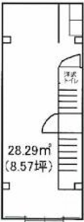 三光ビル:基準階図面