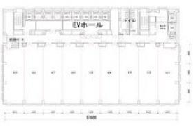 TOC有明オフィス ウエストタワー:基準階図面