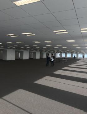 TOC有明オフィス ウエストタワーの内装