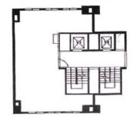 一新ビル:基準階図面
