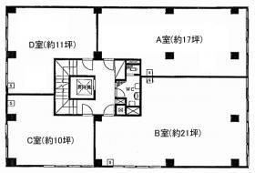 八重洲五の五ビル:基準階図面