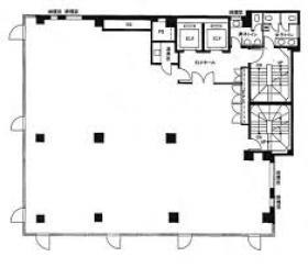 ユニゾ八重洲二丁目(ア―バンスクエア八重洲)ビル:基準階図面