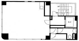 日宝八重洲ビル:基準階図面