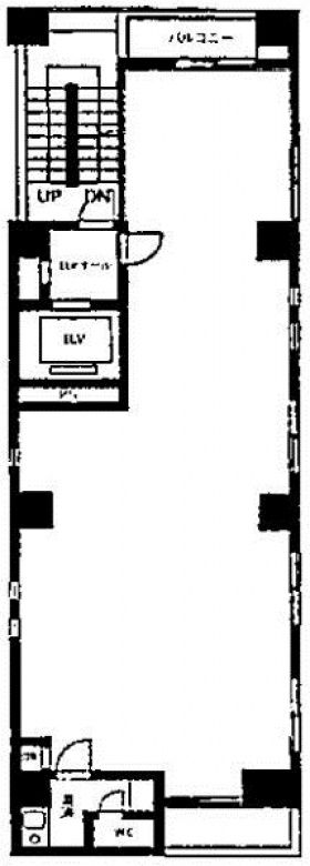 八重洲鈴木ビル:基準階図面