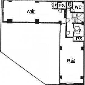 八重洲ヤヨイビル:基準階図面