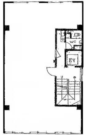 第2中央ビル:基準階図面