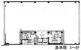 ラウンドクロス新宿:基準階図面