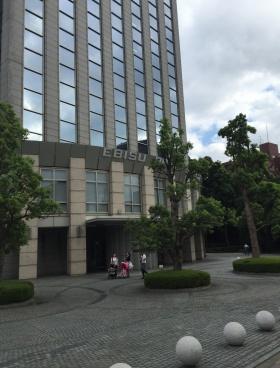 恵比寿プライムスクエアタワーのエントランス