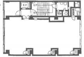 有楽橋ビル:基準階図面