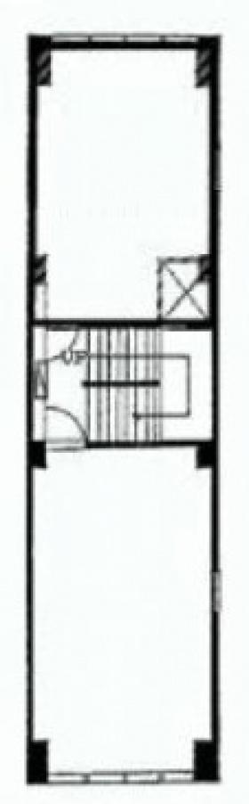 中央林ビル:基準階図面