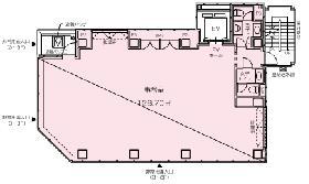 神田橋PR-EXビル:基準階図面