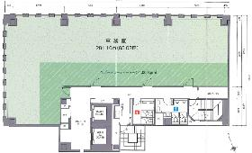 第3虎の門電気ビル:基準階図面