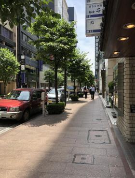 銀座藤小西本店ビルの内装