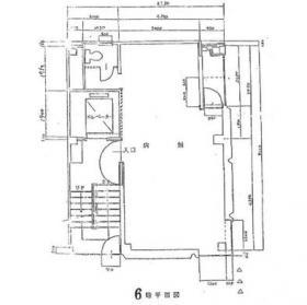銀座ミヤコビル:基準階図面