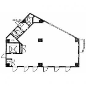 BNKビル:基準階図面