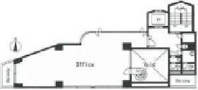 仮称)内藤町プロジェクト(内藤町三洋)ビル:基準階図面