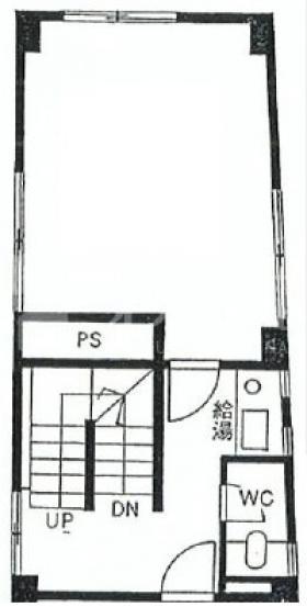 第2直樹ビル:基準階図面