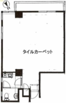プルジョン南青山ビル:基準階図面
