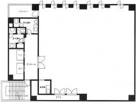 三廣ビル:基準階図面