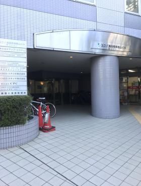 ユニゾ高田馬場看山ビルのエントランス