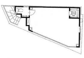 K&Y(旧:AQUAビル田町):基準階図面