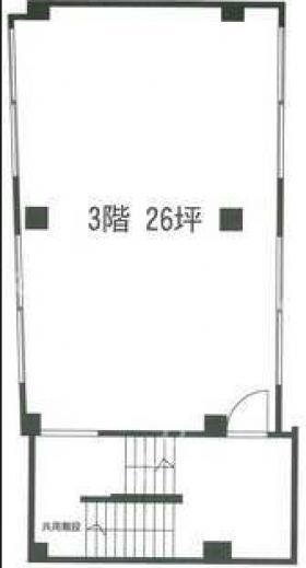 日本橋ビル:基準階図面