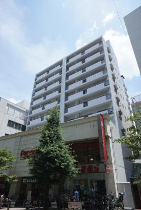 高田馬場ヒルサイドパレスビルの外観写真