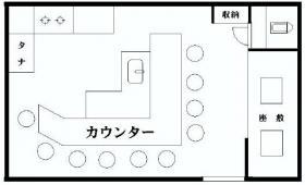 タックイレブン高田馬場:基準階図面