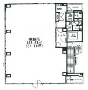 第2中村:基準階図面
