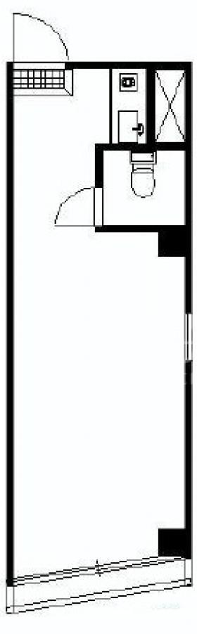 ランドール目白ビル:基準階図面