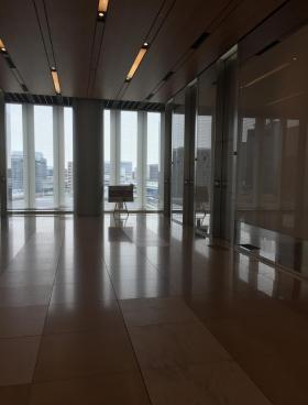 横浜三井ビルディングの内装