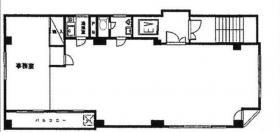 甲山ビル:基準階図面