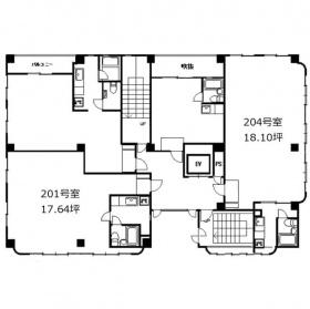 オオタケ第5ビル:基準階図面