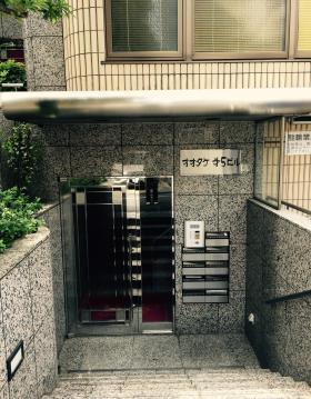 オオタケ第5ビルのエントランス