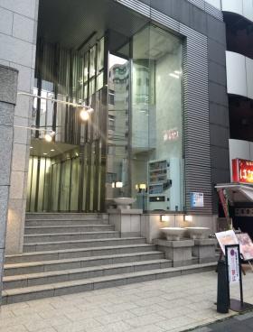 神田木原ビルのエントランス