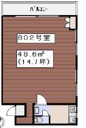新一ビル:基準階図面