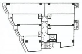 ダイカンプラザ756:基準階図面