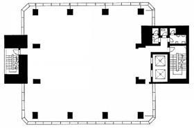 廣瀬第1ビル:基準階図面