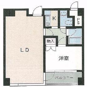 リーラハイツヒジリザカ(住居棟):基準階図面