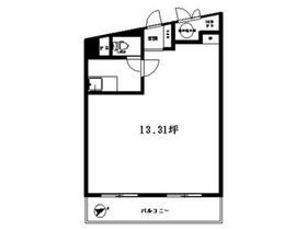 アルテール新宿ビル:基準階図面