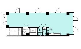 高丸ビル:基準階図面