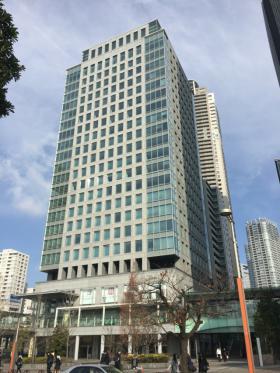 レンタルオフィス汐留芝離宮ビルの外観写真