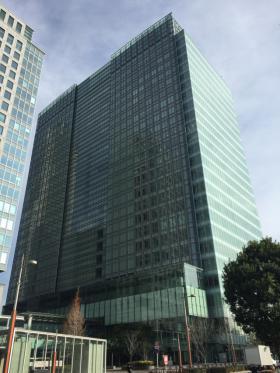レンタルオフィス汐留ビルの外観写真