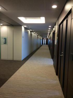 レンタルオフィス汐留ビルの内装