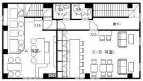 玉屋第1ビル:基準階図面